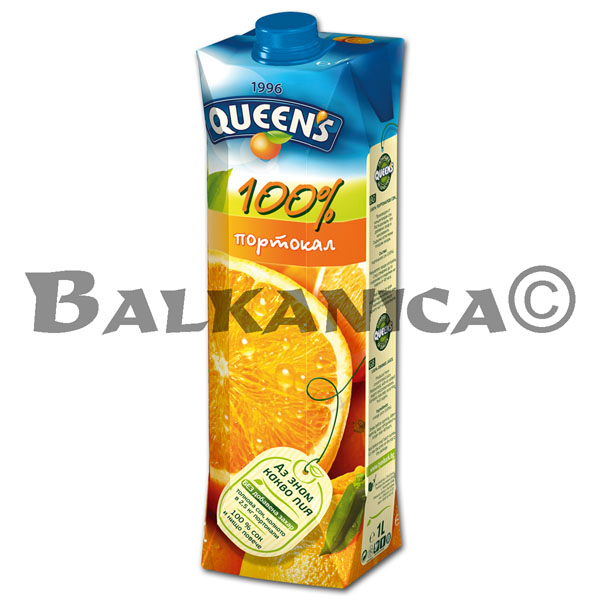 1 L ZUMO NATURAL NARANJA 100% QUEEN'S