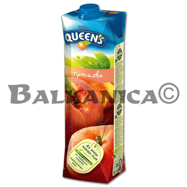 1 L ZUMO NATURAL MELOCOTON QUEEN'S