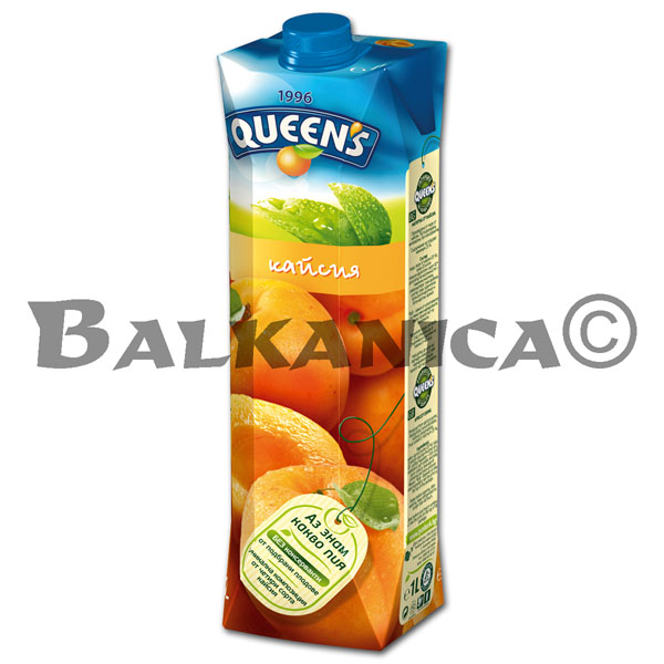 1 L ZUMO NATURAL ALBARICOQUE QUEEN'S