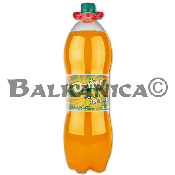 2 L REFRESCO MELOCOTON Y ALBARICOQUE DERBY