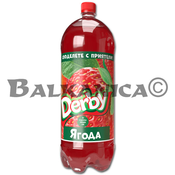 3 L REFRESCO FRESA DERBY
