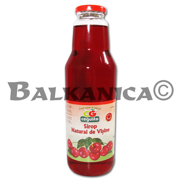 0.75 L SYRUP NATURAL SOUR CHERRY CEGUSTO CENSERVFRUCT