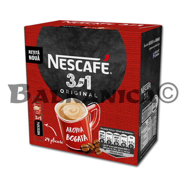 16.5 GR NESCAFE ORIGINAL 3 EN 1